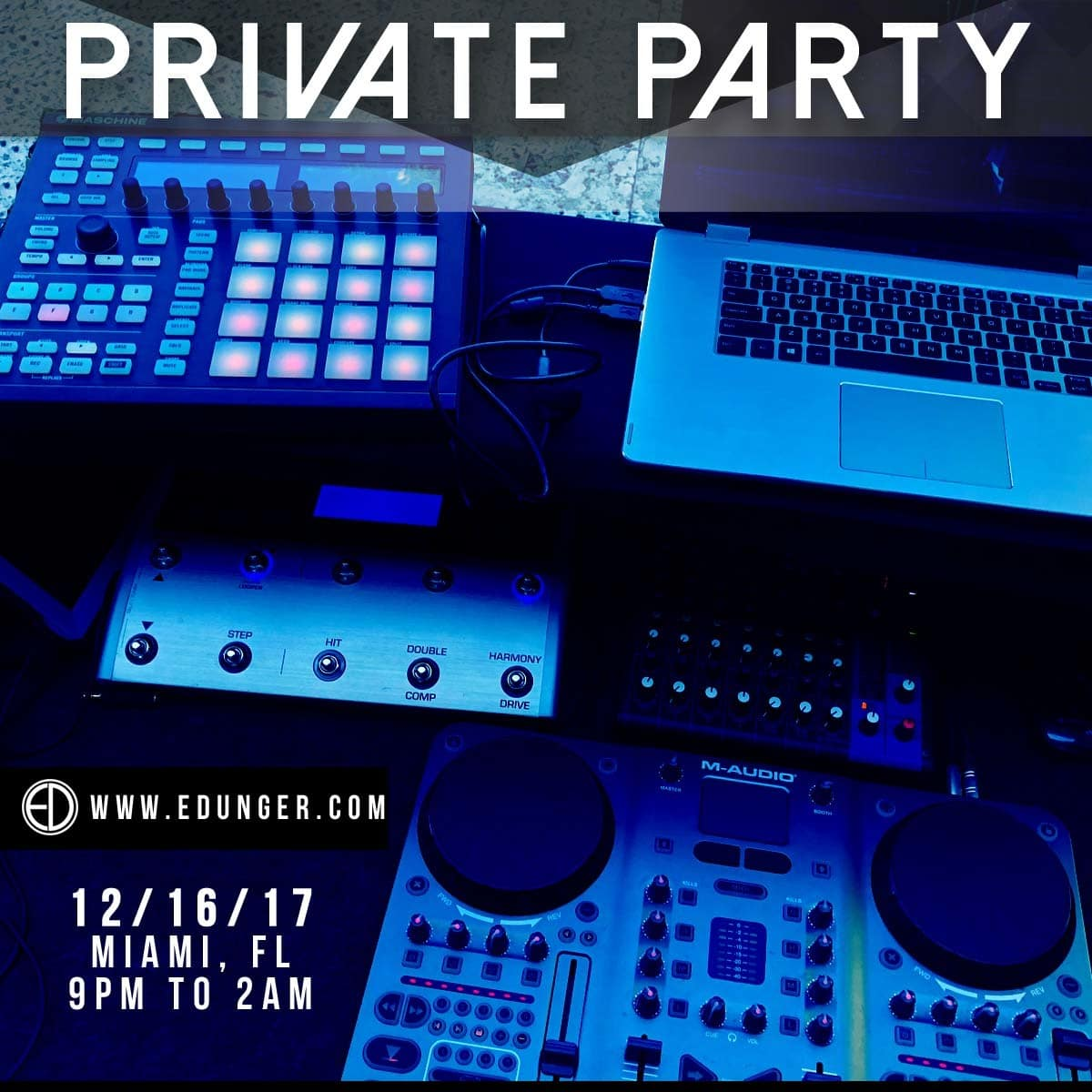 12 16 17 private party miami