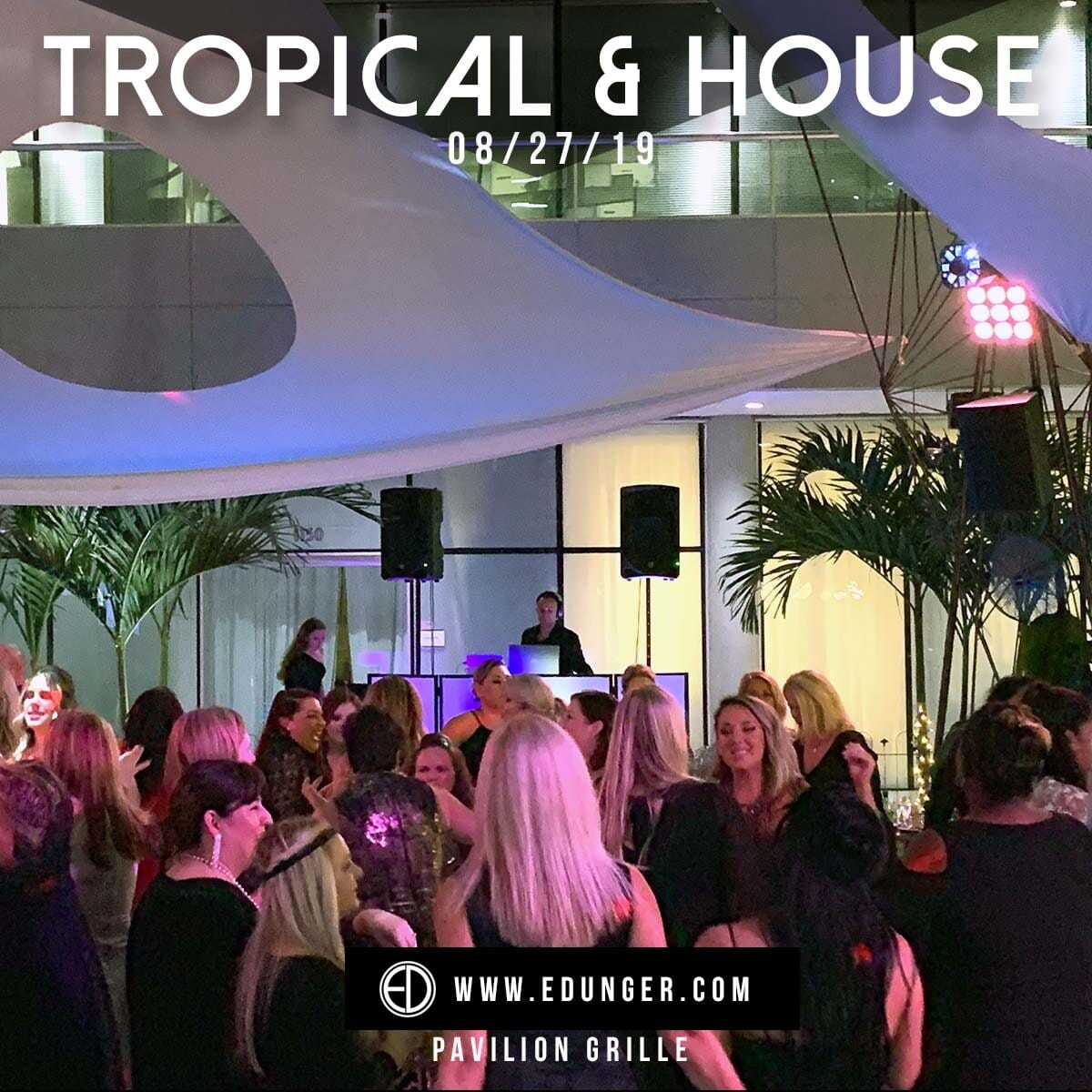tropical and house